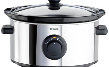 Breville 3.5L Slow Cooker - Stainless Steel