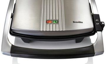 Breville VST025 Sandwich & Panini Press - Stainless Steel