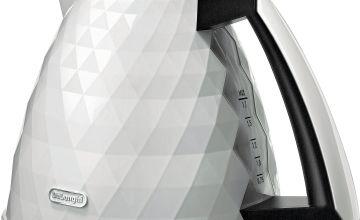 De'Longhi KBJ3001 Brillante Kettle - White