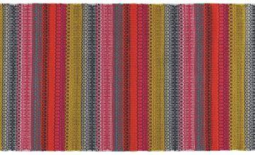 Habitat Agnes Flat Weave Runner - 75x250cm - Multicoloured