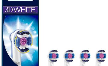 Oral-B 3DWhite Electric Toothbrush Heads - 4 Pack