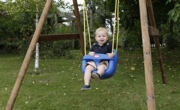 Little Tikes High Back Toddler Swing Seat - Blue