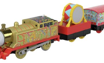 Thomas & Friends 75th Anniversary Golden Motorised Toy Train