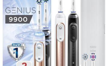 Oral-B Genius 9900 Electric Toothbrush -  Duo Pack