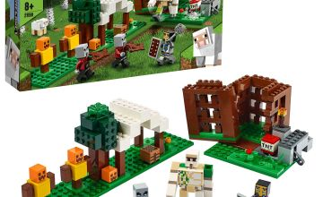 LEGO Minecraft The Pillager Outpost Building Set 21159