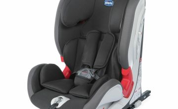 Chicco YOUniverse Fix Group 1/2/3 Car Seat - Black