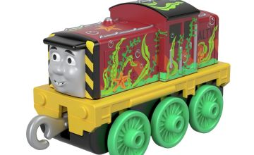 Thomas & Friends Seaweed Salty Small Push Along Toy Train