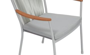 Argos Home Polywood Chair - Grey