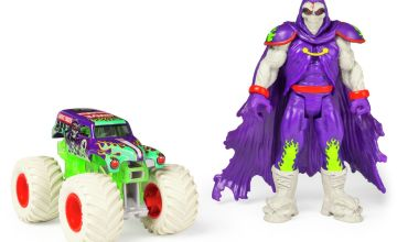Monster Jam 1:64 Grave Digger Truck and Figure