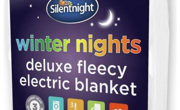 Silentnight Deluxe Fleecy Electric Blanket - Single