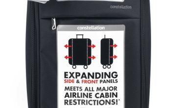 Constellation Expandable 2 Wheel Soft Cabin Suitcase