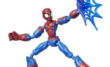 Marvel Spider-Man Bend and Flex Spider-Man Figure