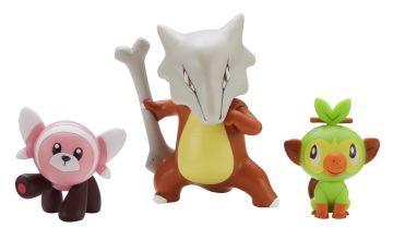 Pokemon Action Figure 3 Pack Assortment
