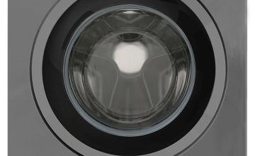 New World NWDHT1014DG 10KG 1400 Spin Washing Machine - Grey