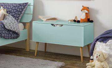 Argos Home Bodie Toy Box - Blue