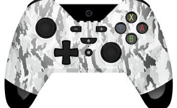 Gioteck WX-4 Wireless Nintendo Switch Controller -White Camo