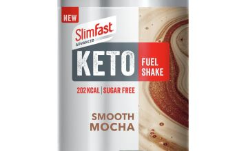 SlimFast Advanced Keto Fuel Shake SMooth Mocha