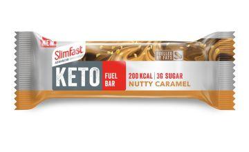 Slimfast Keto Fuel Bar Nutty Caramel x 12