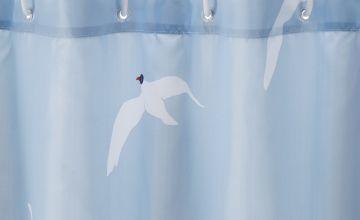 Argos Home Seagull Antibacterial Shower Curtain