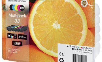Epson 33 Oranges Ink Cartridges Black & Colour