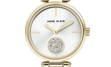 Ann Klein Ladies Silver Stainless Steel Bracelet Watch