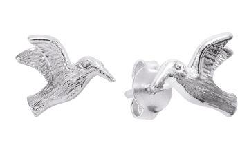Revere Sterling Silver Hummingbird Stud Earrings