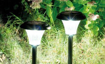 Duracell Set of 2 LED 15 Lumen Solar Lights