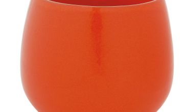 Habitat Peat Plant Pot - Orange