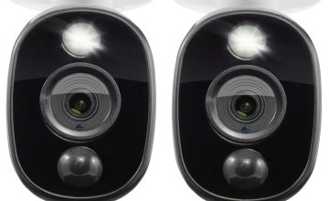 Swann Full HD Spotlight 1080p CCTV Camera - Twin Pack