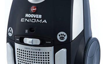 Hoover TE70/EN21 Enigma Pets Bagged Cylinder Vacuum Cleaner