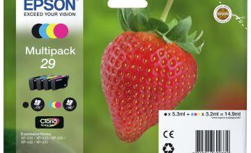 Epson 29 Strawberry Ink Cartridges - Black & Colour