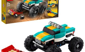 LEGO Creator 3-in-1 Monster Truck Demolition Car Toy - 31101