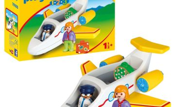Playmobil 70185 1/2/3 Airplane with Passenger Playset