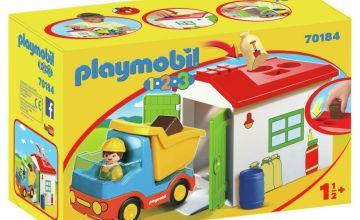 Playmobil 70184 1/2/3 Garbage Truck Playset