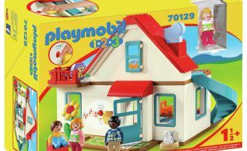 Playmobil 70129 1/2/3 Family Home Playset