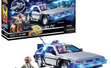 Playmobil 70317 Back to the Future DeLorean