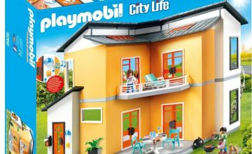 Playmobil 9266 City Life Modern House and Bell