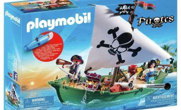 Playmobil 70151 Pirate Ship and Motor Playset