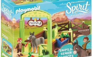 DreamWorks Spirit 70120 Snips and Señor Carrots