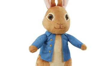 Beatrix Potter Talking Movie Peter Rabbit Soft Toy