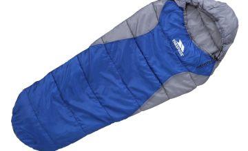 Trespass 250GSM Junior Mummy Sleeping Bag
