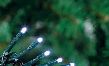 Argos Home 200 Bright White Multi-function Timer LED Lights