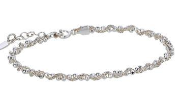 Revere Italian Sterling Silver Popcorn Bead Bracelet