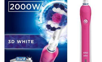 Oral-B Pro 2 2000 Electric Toothbrush - Whitening