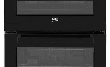 Beko KDC653K 60cm Double Oven Electric Cooker - Black