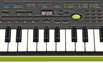 Casio SA-46 Mini Keyboard - Lime Green