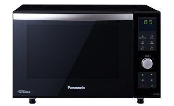 Panasonic 1000W Combination Flatbed Microwave NN-DF386-Black