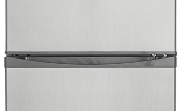 Hoover HFF195XK Fridge Freezer - Stainless Steel