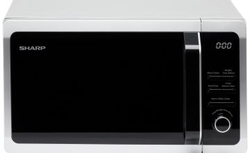 Sharp 800W Standard Microwave R274SLM - Silver