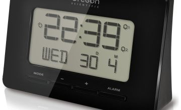 Oregon Scientific Radio Controlled Tri-Band Alarm Clock